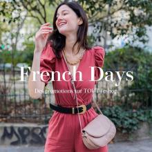 FRENCH DAYS 🇫🇷 - Les French Days c'est dès aujourd'hui  sur Sabrina Paris et ça nous donne le SOURIRE. Retrouvez des promotions sur TOUT l'eshop de -20% à -60% et faites votre bonheur. Jusqu'au 2 juin sur www.sabrinaparis.fr ❤️ - #frenchdays #promotions #sabrinaparis