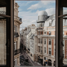 VUE DU JOUR  - Bonjour ❤️ - #paris #vuedujour #bonlundi